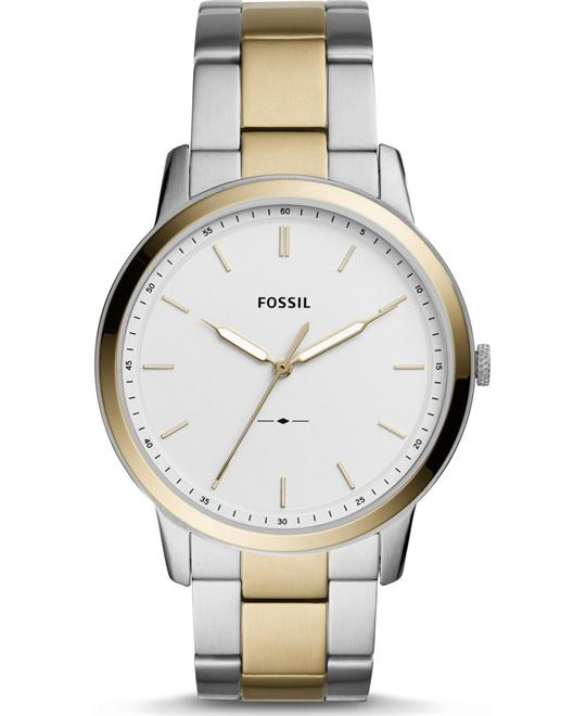 FOSSIL THE MINIMALIST THREE-HAND WATCH 44MM