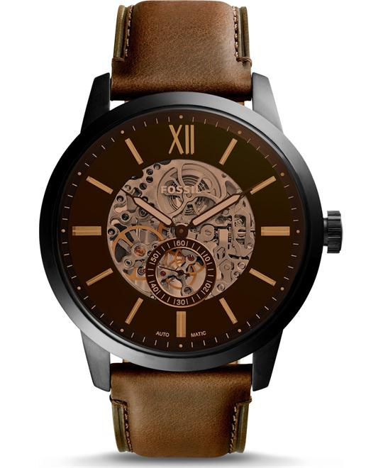 Fossil Townsman Automatic Skeleton Watch 48mm