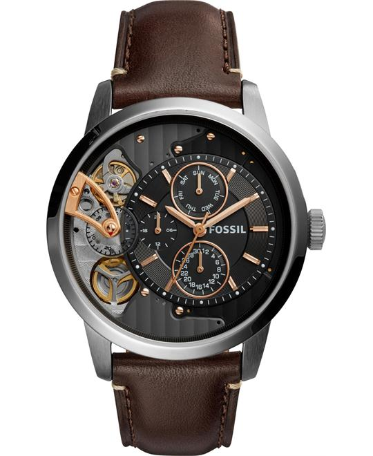 Fossil Townsman Brown Men's Watch 44mm