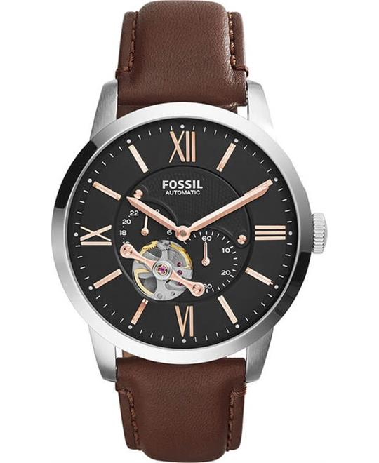Fossil Townsman Brown Watch 45mm