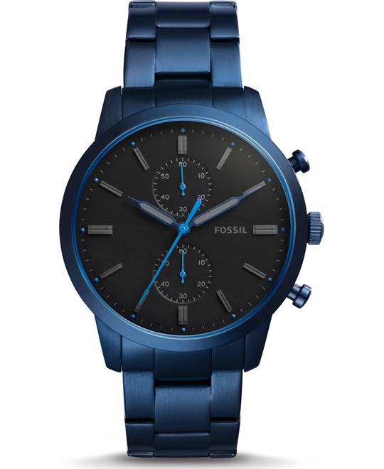 Fossil Townsman Chronograph Blue Watch 44mm
