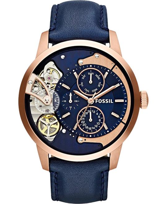Fossil Townsman Multi-Function Navy Watch 44mm