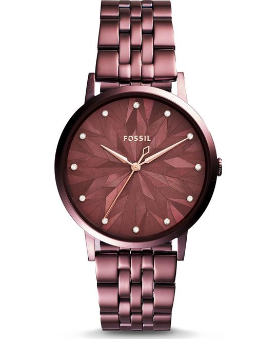 Fossil Vintage Muse Three-Hand Wine Watch 40mm
