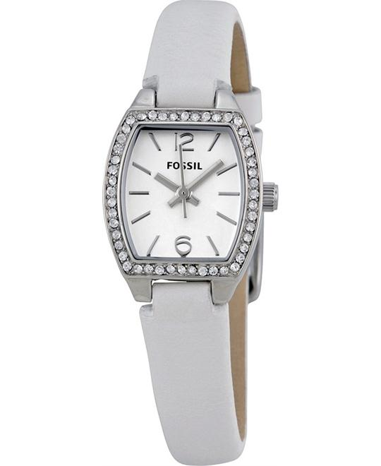 FOSSIL Tonneau White Ladies Watch 29mm