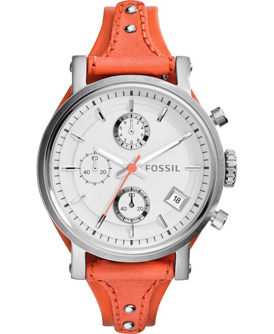 Fossil Women's Chronograph Original Boyfriend Watch 38mm