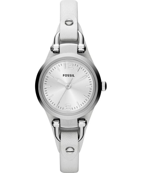 "Fossil Women's ""Georgia"" Watch Leather Band 26mm"