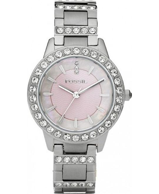 Fossil Women's Jesse Stainless Steel Bracelet Watch 34MM