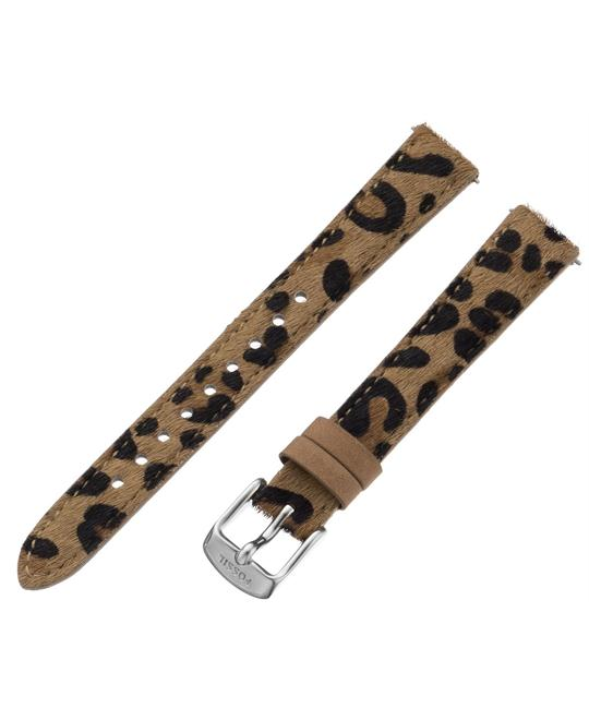 Fossil Women's Leather Watch Strap - Cheetah Print 14mm