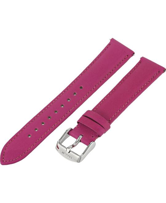 Fossil Women's Leather Watch Strap - Fuchsia 18mm