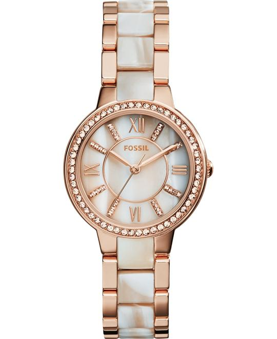 Fossil Women's Virginia Shimmer Horn Watch 30mm