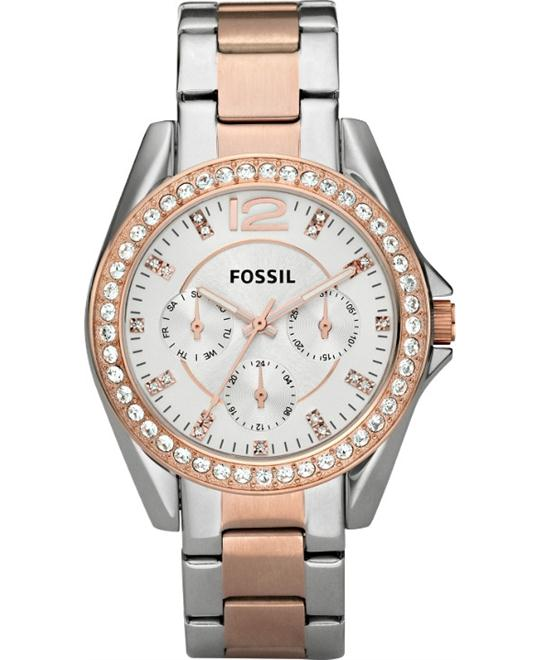 Fossil Women's Stainless Steel Bracelet 38mm