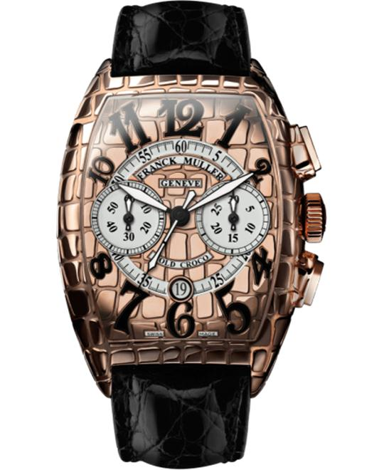Franck Muller Croco Collections Chronograph 55.4 x 39.6