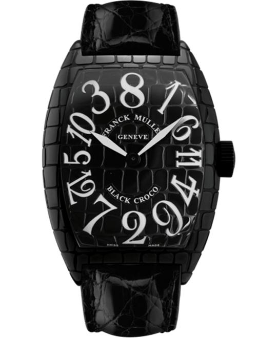 Franck Muller Croco Collections Crazy Hours 55.4 x 39.6