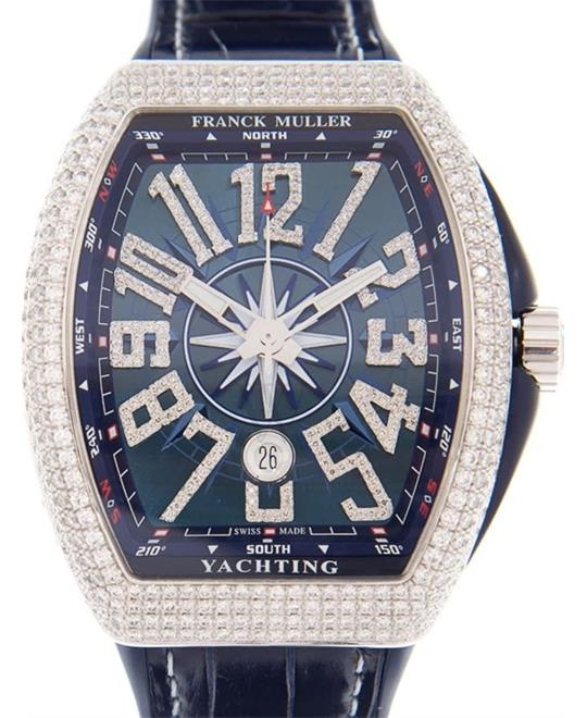 Franck Muller Vanguard 18k Diamond Watch 44*54mm