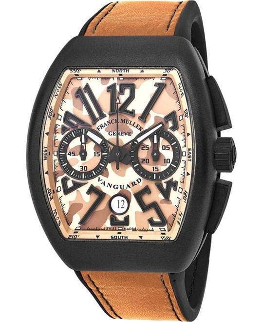 Franck Muller Vanguard Camouflage Watch 54x44