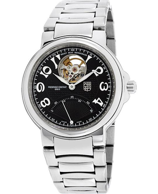 Frederique Constant Black  FC-680ABS3H6B Watch 38mm