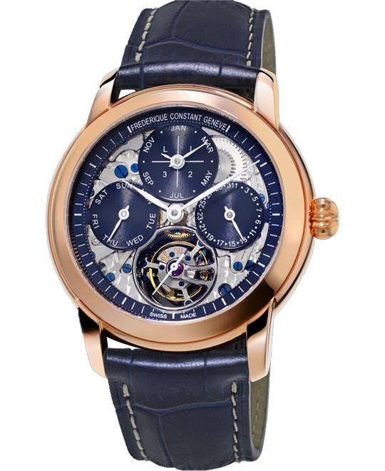 Frederique Constant Classic Tourbillon Fc-975n4h9 Limited Edition 30 Pieces 42mm