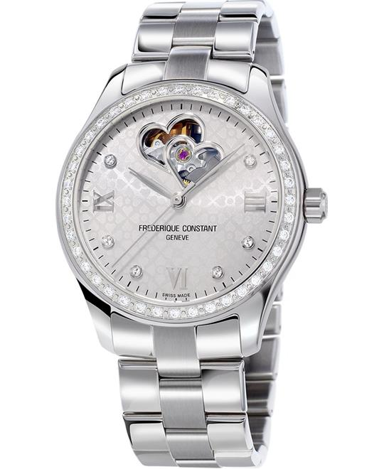 Frederique Constant Double Heart Beat FC-310WDHB3BD6B Watch 36mm