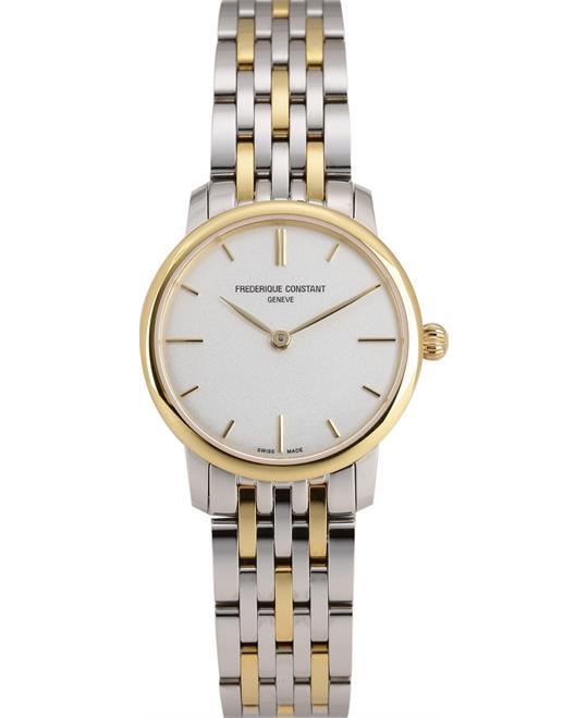 đồng hồ Frederique Constant FC-200S1S33B3 Slimline Watch 29mm