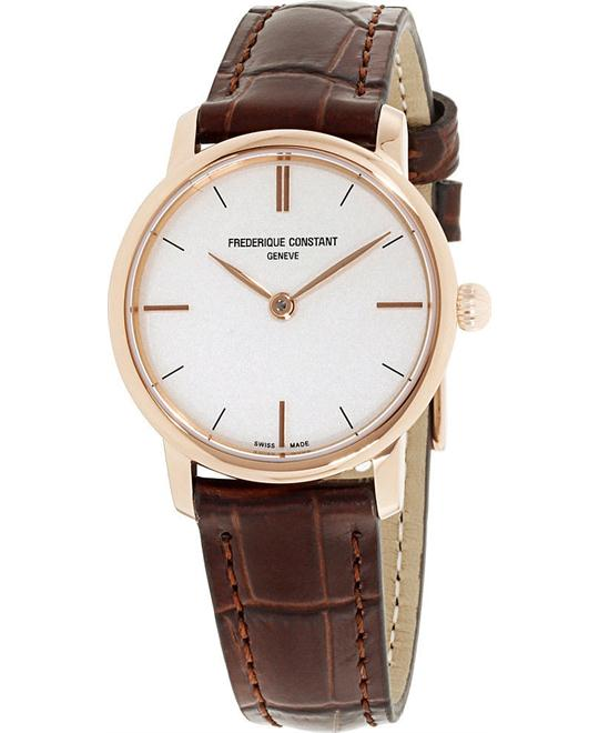 Frederique Constant FC-200V1S34 Slimline Watch 29mm