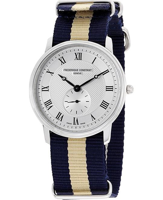 Frederique Constant FC-235M4S6NVYBGE Slimline Watch 37mm