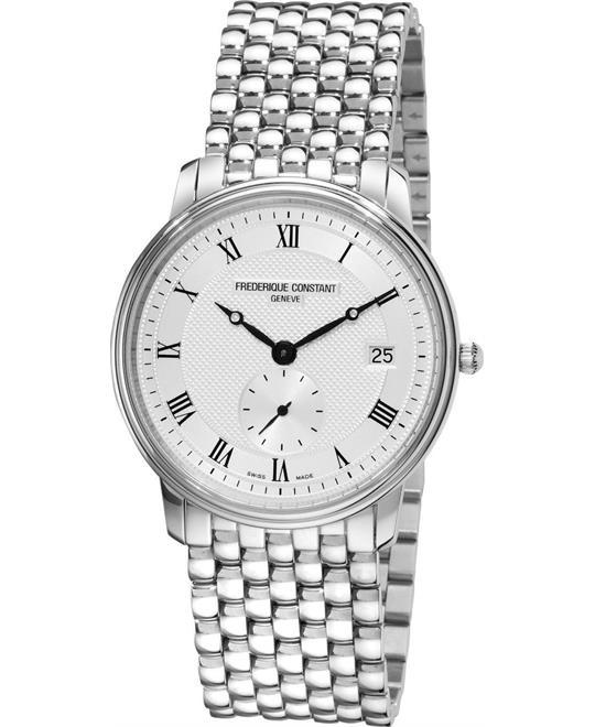 đồng hồ Frederique Constant FC-245M4S6B SlimLine Date 37mm