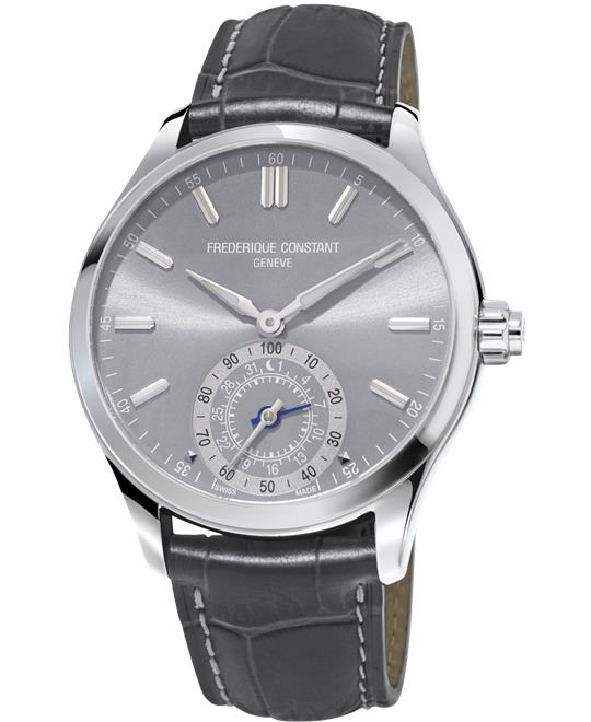 đồng hồ nam Frederique Constant FC-285LGS5B6 Horological Smartwatch 42mm