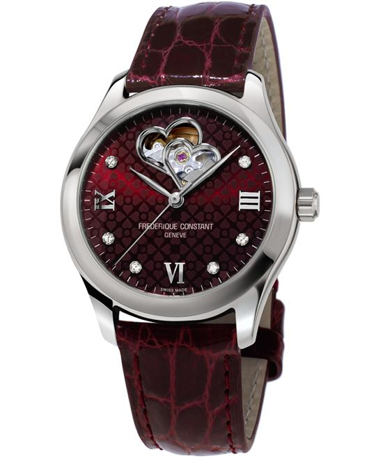 đồng hồ Frederique Constant FC-310BRGDHB3B6 Double Heart Watch 36mm