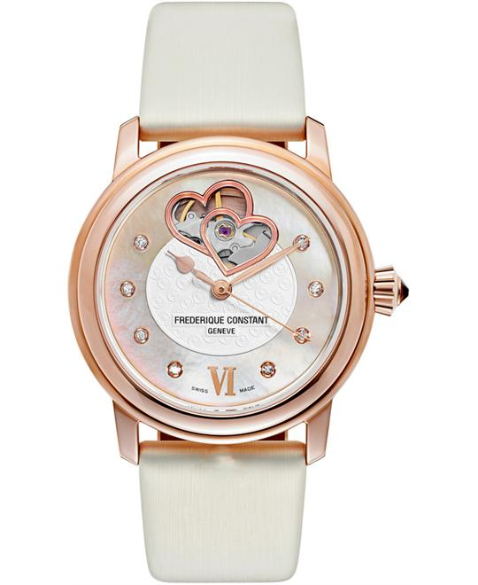 Frederique Constant Double FC-310WHF2P4 Heart Beat 34mm