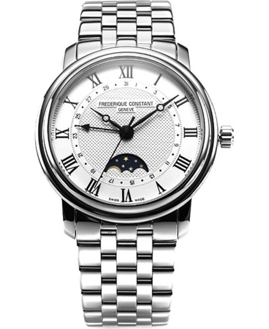 Frederique Constant FC-330MC4P6B Classics Moonphase 40mm