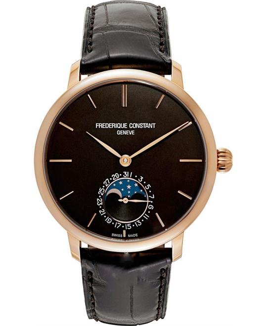 Frederique Constant FC-705C4S9 SlimLine Moonphase 18kt  42mm
