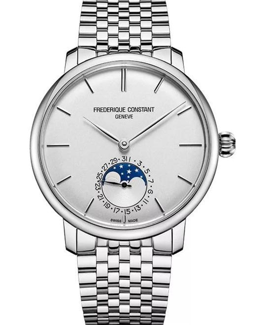 Frederique Constant FC-705S4S6B Slimline Moonphase 42mm