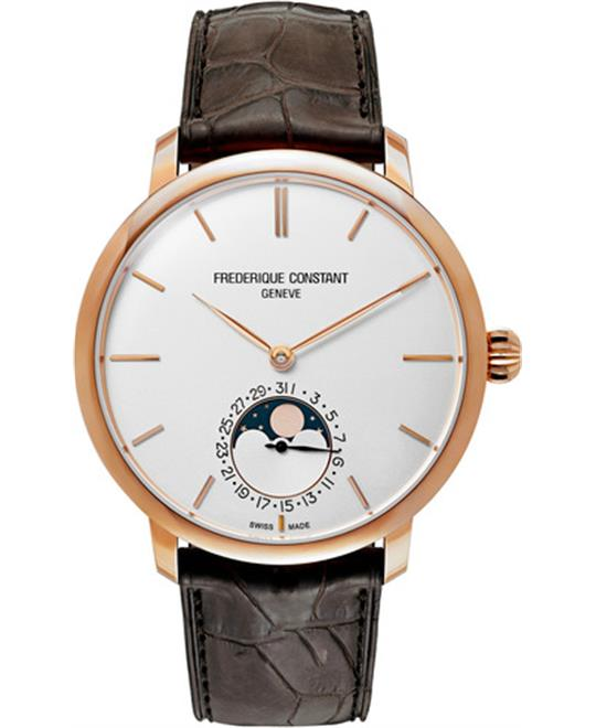 đồng hồ Frederique Constant FC-705V4S9 Slimline Moonphase Watch 42mm