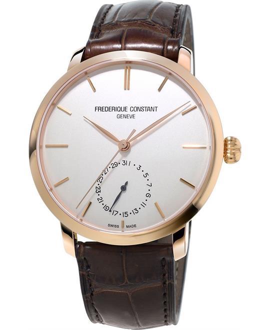 đồng hồ FREDERIQUE CONSTANT FC-710V4S4 Slimline 42mm
