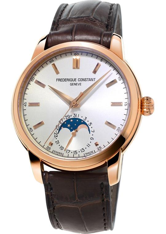 Frederique Constant FC-715V4H4 Classic Moonphase Watch 40.5mm