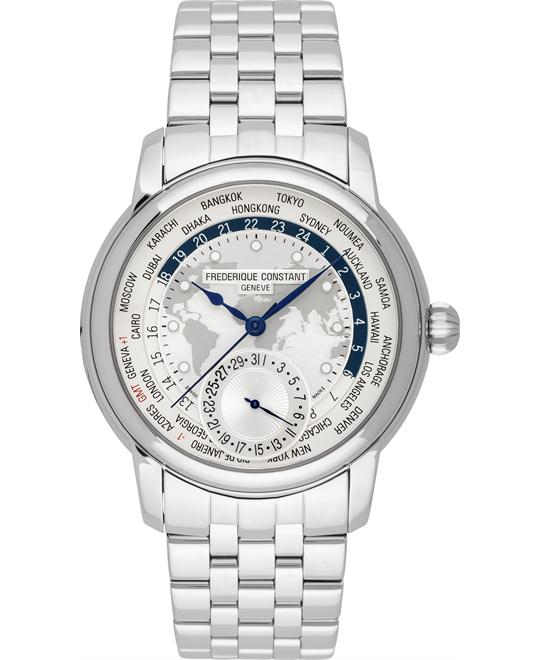 Frederique Constant FC-718MC4H6B Worldtimer 42mm