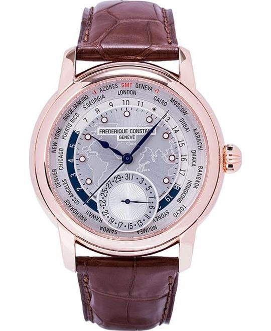 đồng hồ Frederique Constant FC-718WM4H4 Worldtimer Automatic 42mm