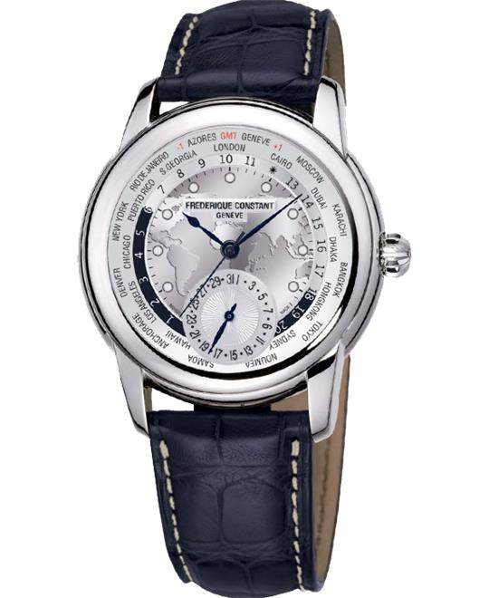 Frederique Constant  FC-718WM4H6 World timer Auto 42mm