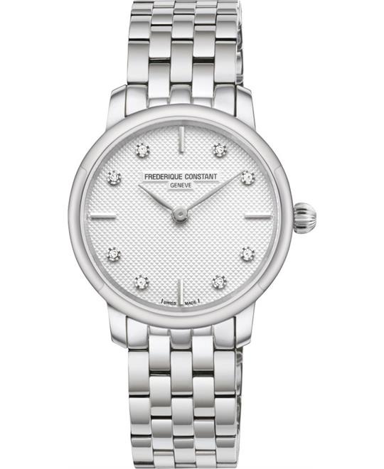 Frederique Constant Slimline FC-200STDS6B Ladies Watch 25mm