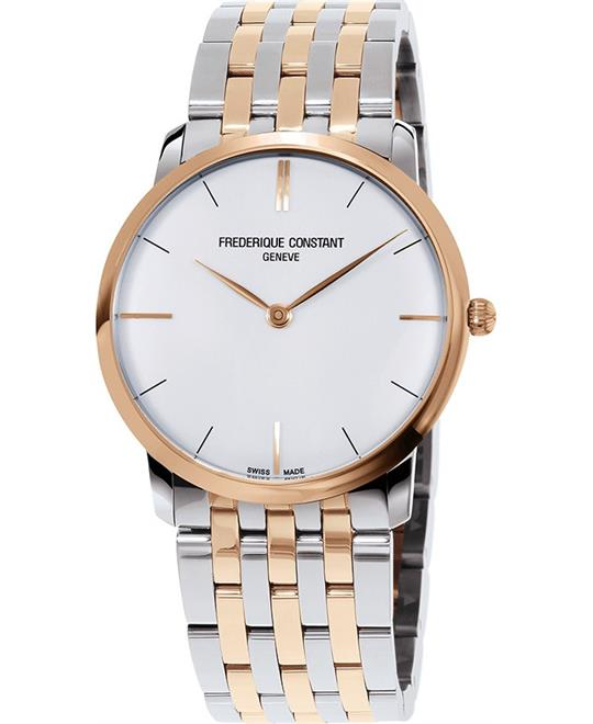 Frederique Constant Slimline FC-200V5S32B Watch 39mm