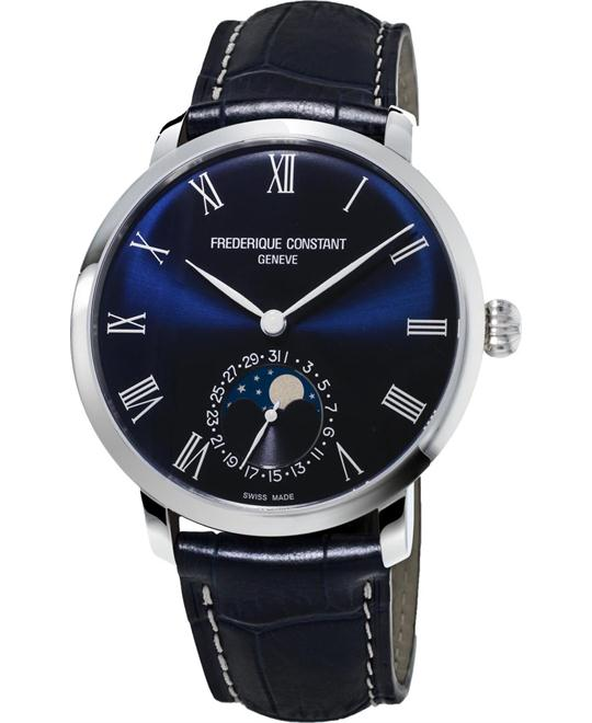 Frederique Constant Slimline FC-705NR4S6 Moonphase 42mm