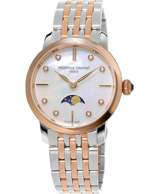 Frederique Constant Slimline Moonphase Quartz 30mm