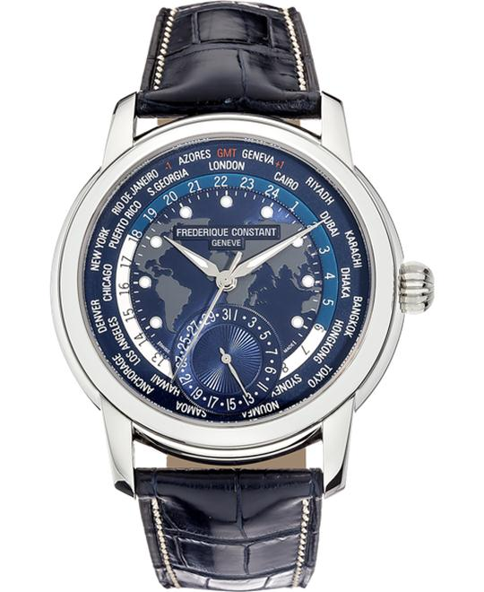 Frederique Constant FC-718NWM4H6 World timer 42mm