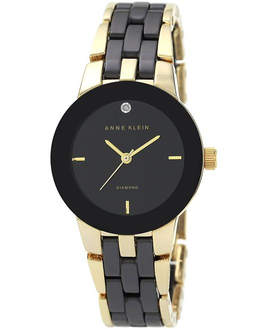 Anne Klein Women's Diamond Bracelet Watch 30mm