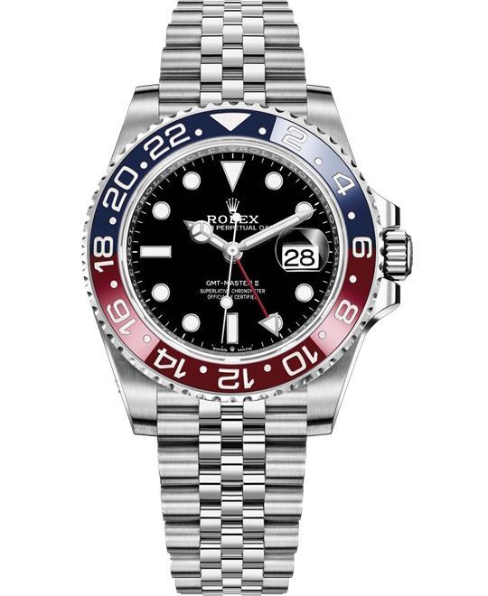 đồng hồ nam ROLEX GMT-MASTER II PEPSI 126710 Watch 40 mm