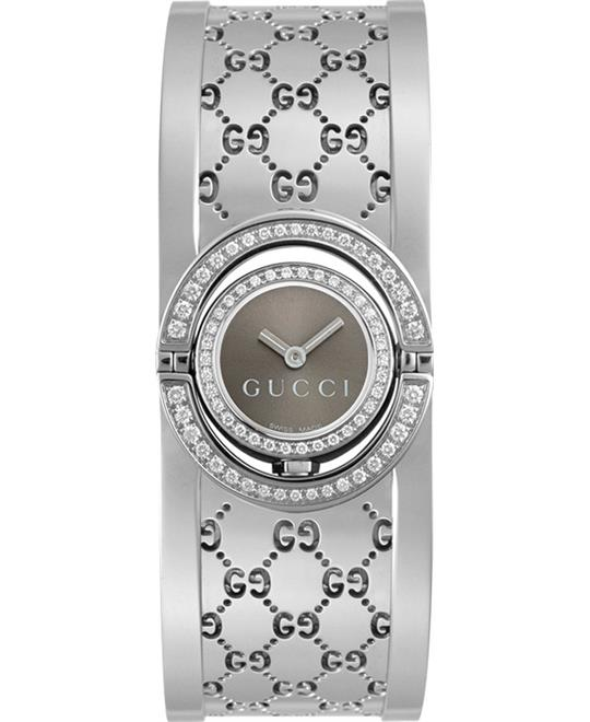 đồng hồ nữ Gucci 112 Twirl Diamon Bangle Women's Watch 23mm
