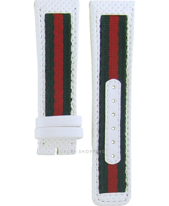 Gucci 131.3 Leather White Original Watch Strap 23/20