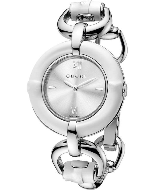 Gucci Bamboo  Women's Swiss Stainless Watch 35mm