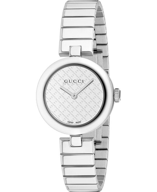 GUCCI Diamantissima Stainless Steel Medium Ladies Watch 32mm