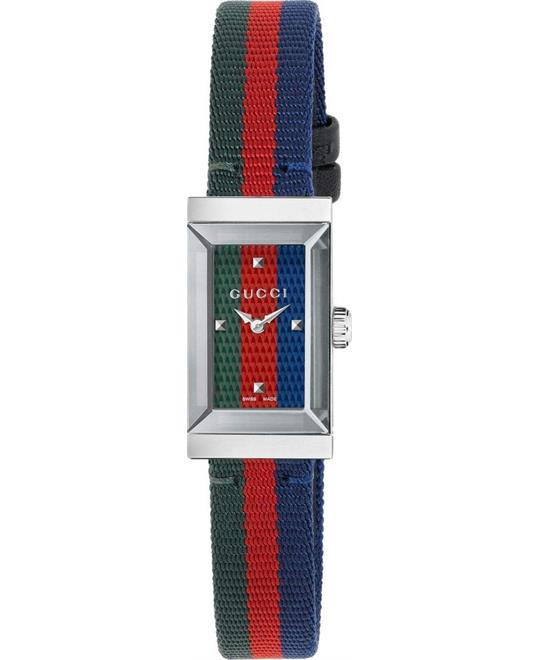 Gucci G-Frame Ladies Nylon Watch 14mm